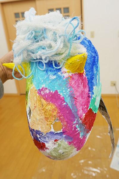 鬼のお面6(絵画教室・習い事)