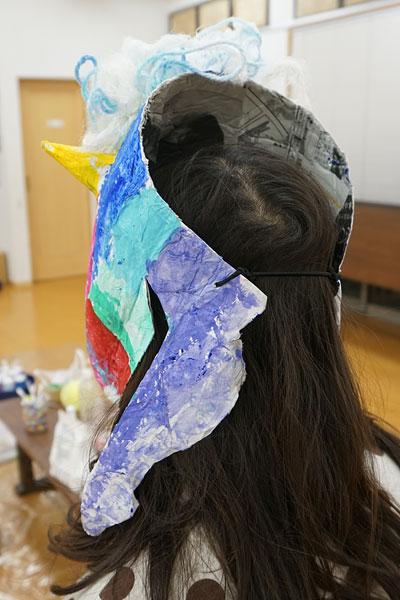鬼のお面7(絵画教室・習い事)
