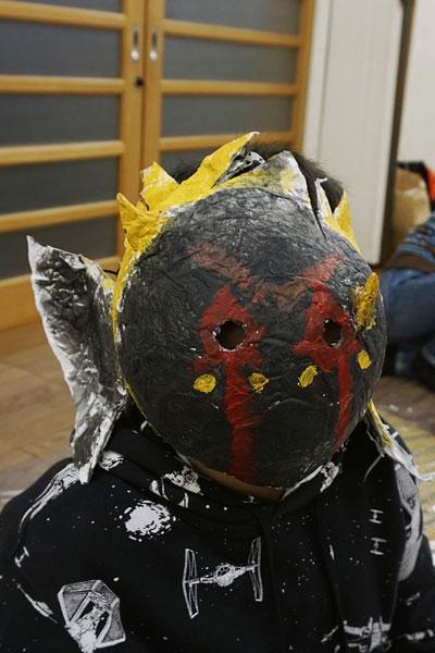 鬼のお面14(絵画教室・習い事)