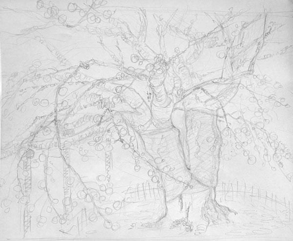 桜のデッサン-3