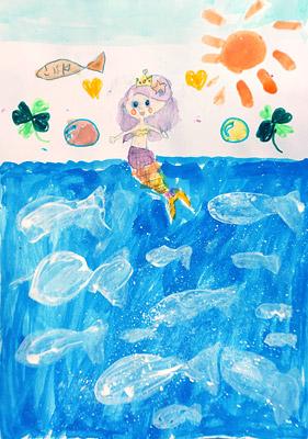 2916年6月子ども絵画作品