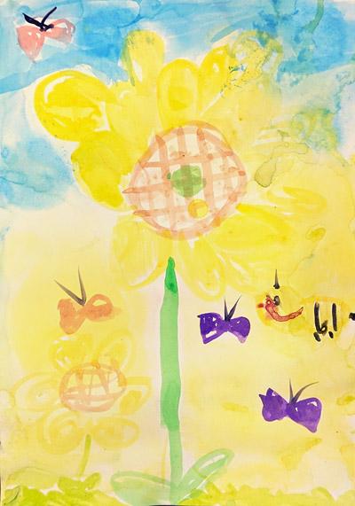 子供絵画作品