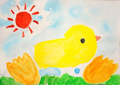 2016年9月子供絵画3