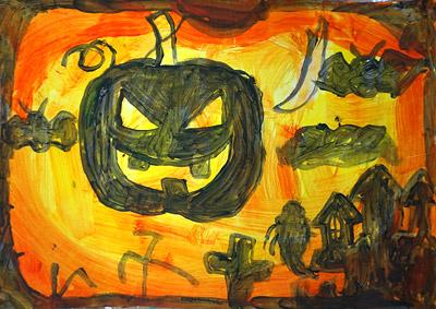 ハロウィンの絵2