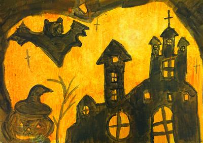 ハロウィンの絵3