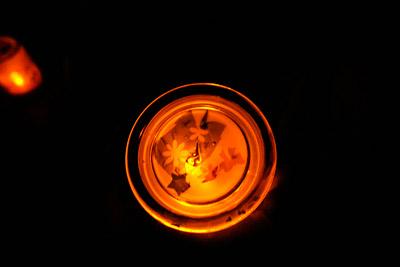 ハロウィン・ろうそくランプ制作8