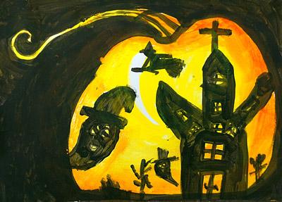ハロウィンの絵8