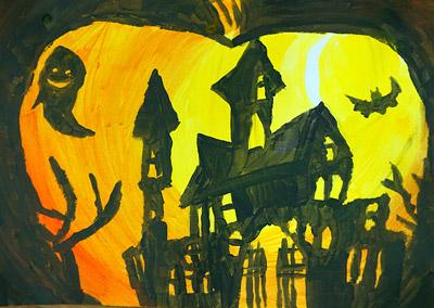 ハロウィンの絵10