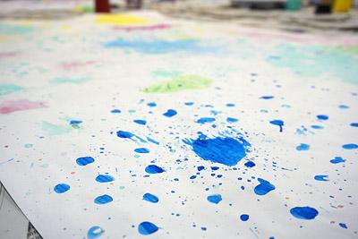 子供実験絵画9