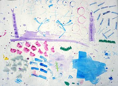 子供実験絵画10