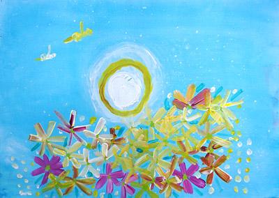 コスモス子供絵画10