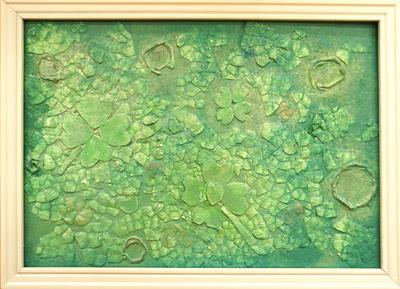 卵の殻アート1
