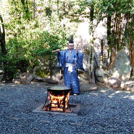 2018お正月諏訪神社神事1