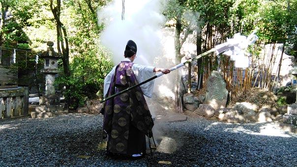 2018お正月諏訪神社神事2